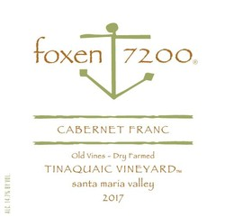 2017 Cabernet Franc, Tinaquaic Vineyard - Old Vines