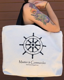 Master & Commander Tote Bag