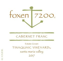 2017 Cabernet Franc, Tinaquaic Vineyard